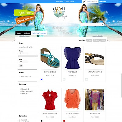 Closet De Playa