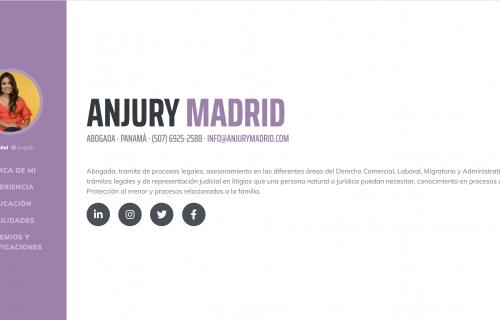 Anjury Madrid